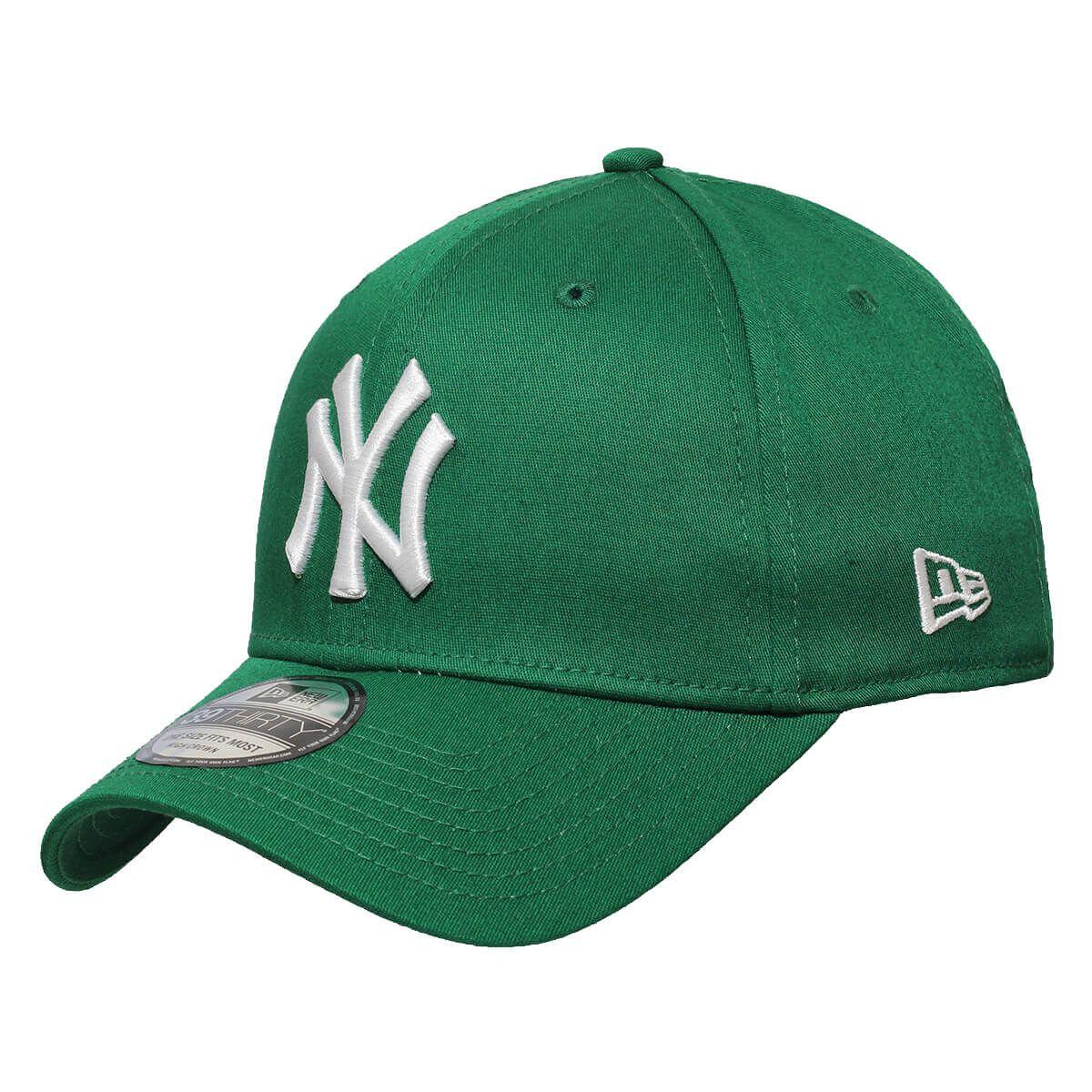 Boné New Era Aba Curva 3930 MLB NY Yankees Colors Verde