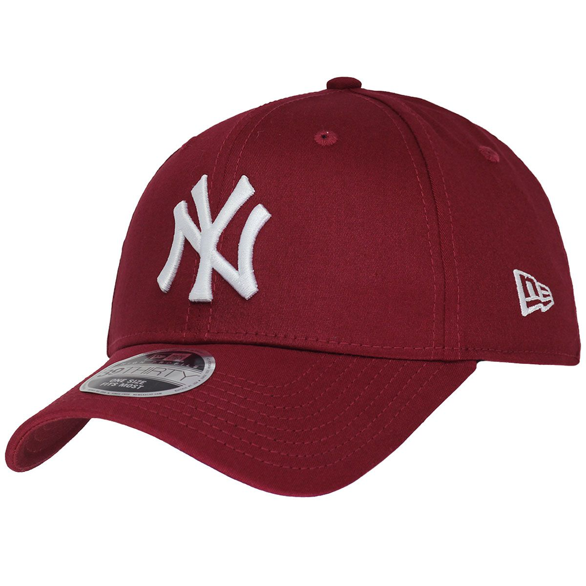Boné New Era Aba Curva 3930 MLB NY Yankees Colors Vinho