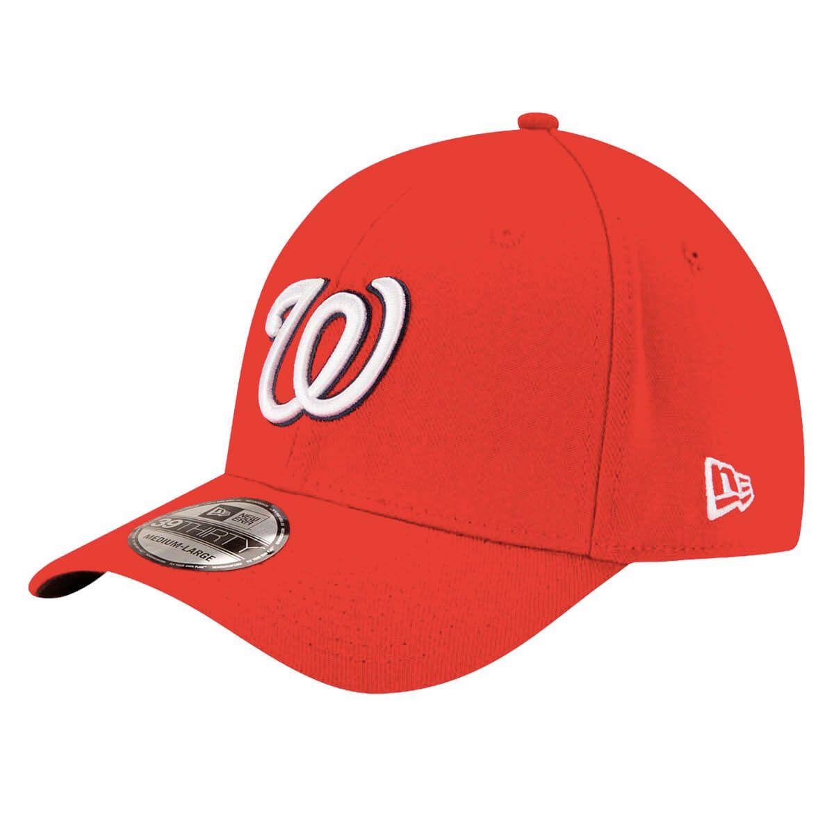 Boné New Era Aba Curva 3930 MLB Washington Classic