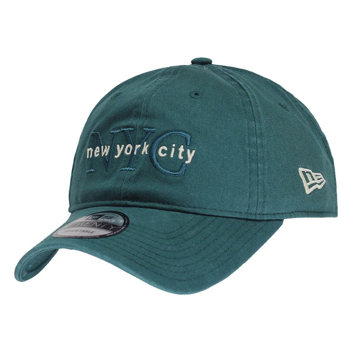 Boné New Era Aba Curva 920 SN Brand NYC Core Verde