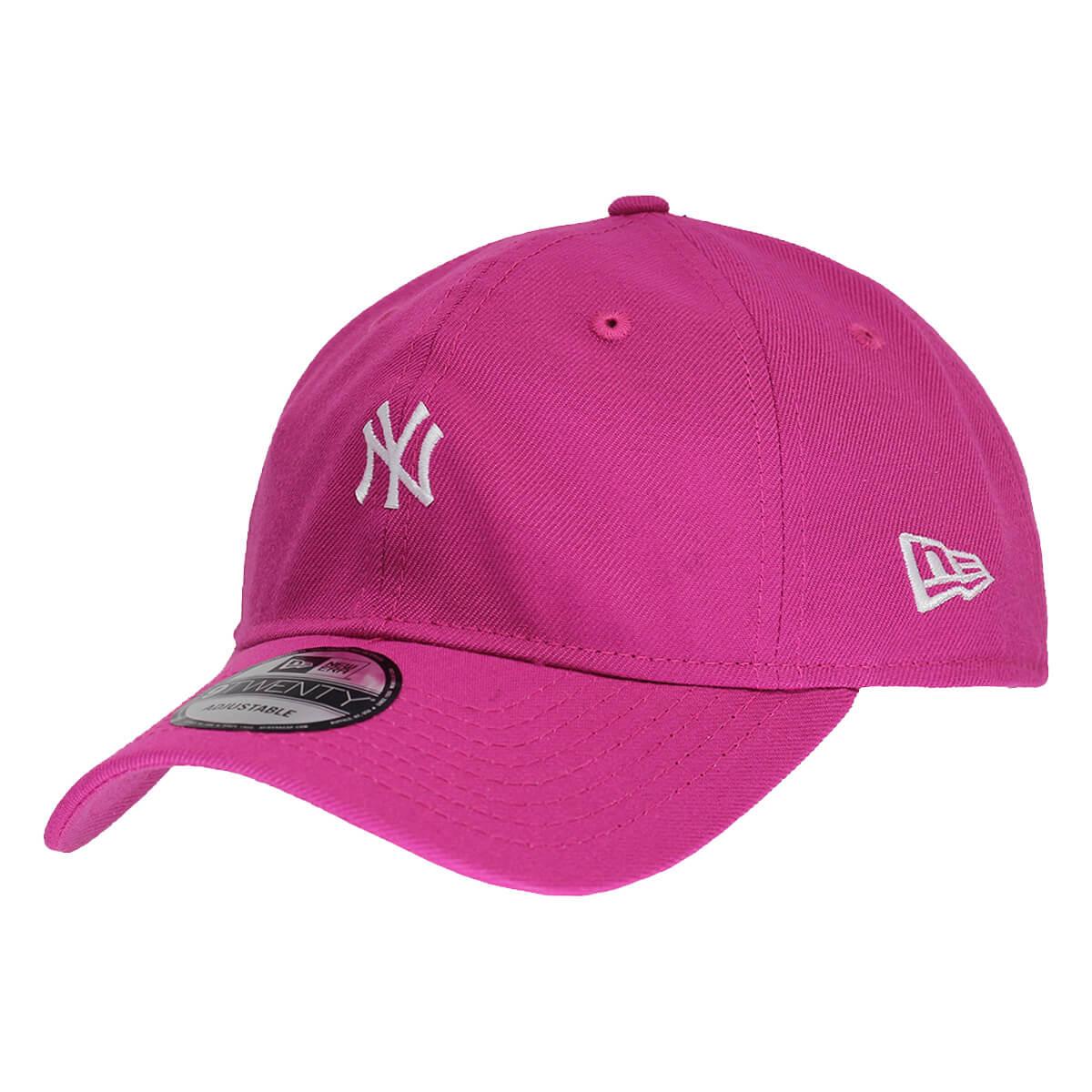 Boné New Era Aba Curva 920 ST MLB NY Yankees Mini Logo Neon