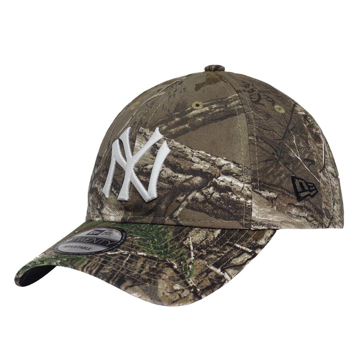 Boné New Era Aba Curva 920 ST MLB NY Yankees Real Tree