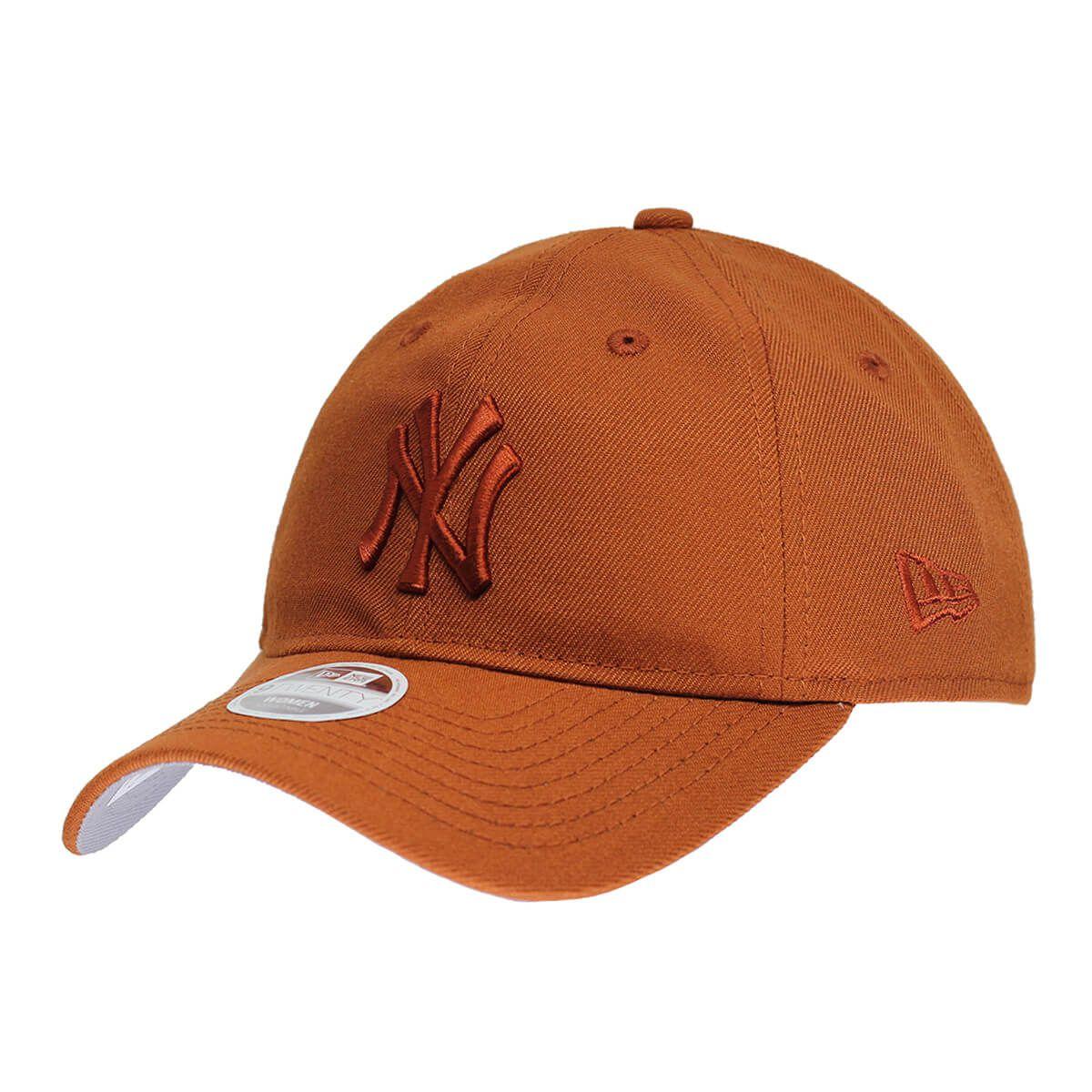 Boné New Era Aba Curva 920 ST MLB NY Yankees Tonal Laranja