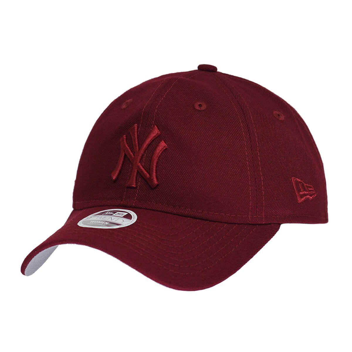 Boné New Era Aba Curva 920 ST MLB NY Yankees Tonal Vinho