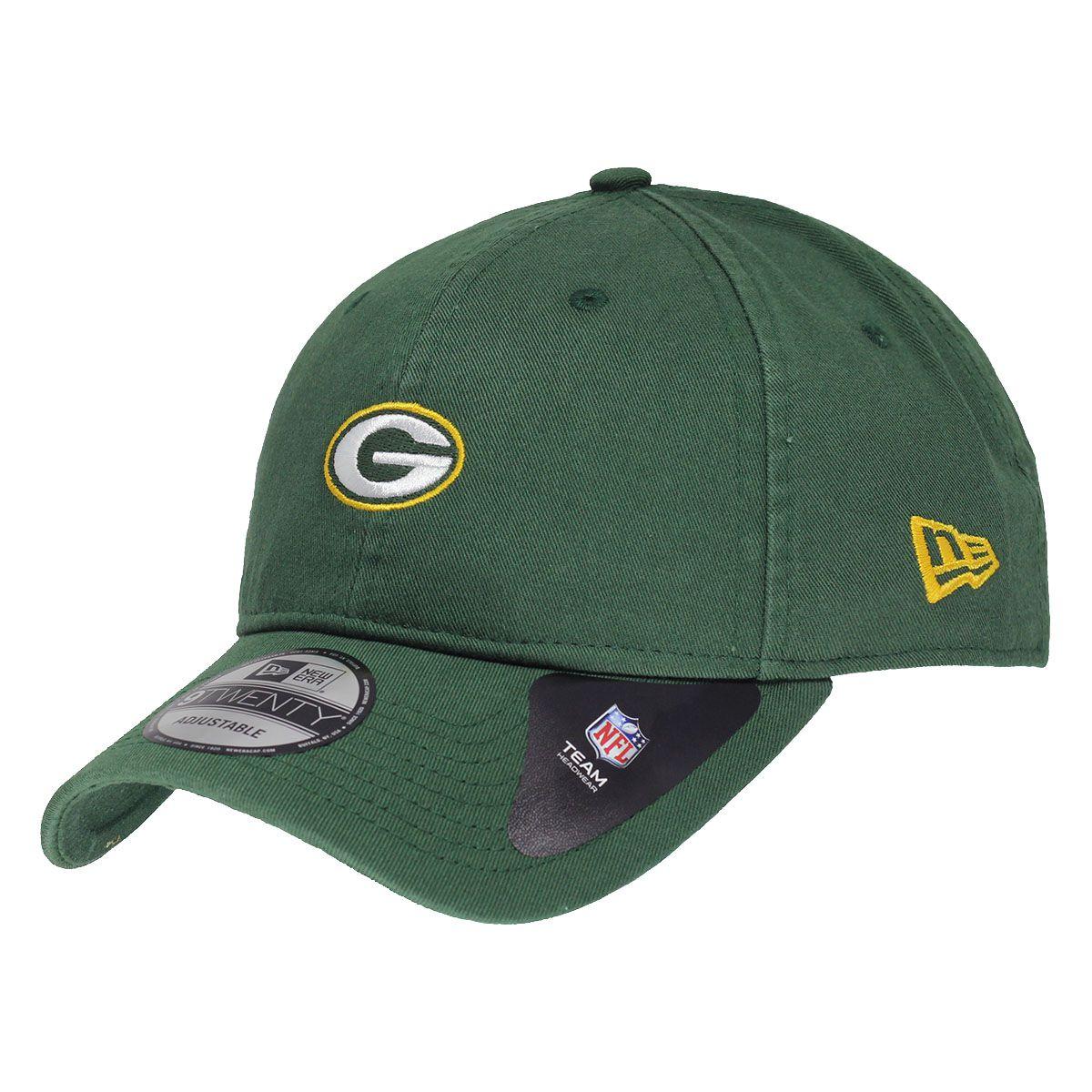 Boné New Era Aba Curva 920 ST NFL Packers Mini Logo Classic