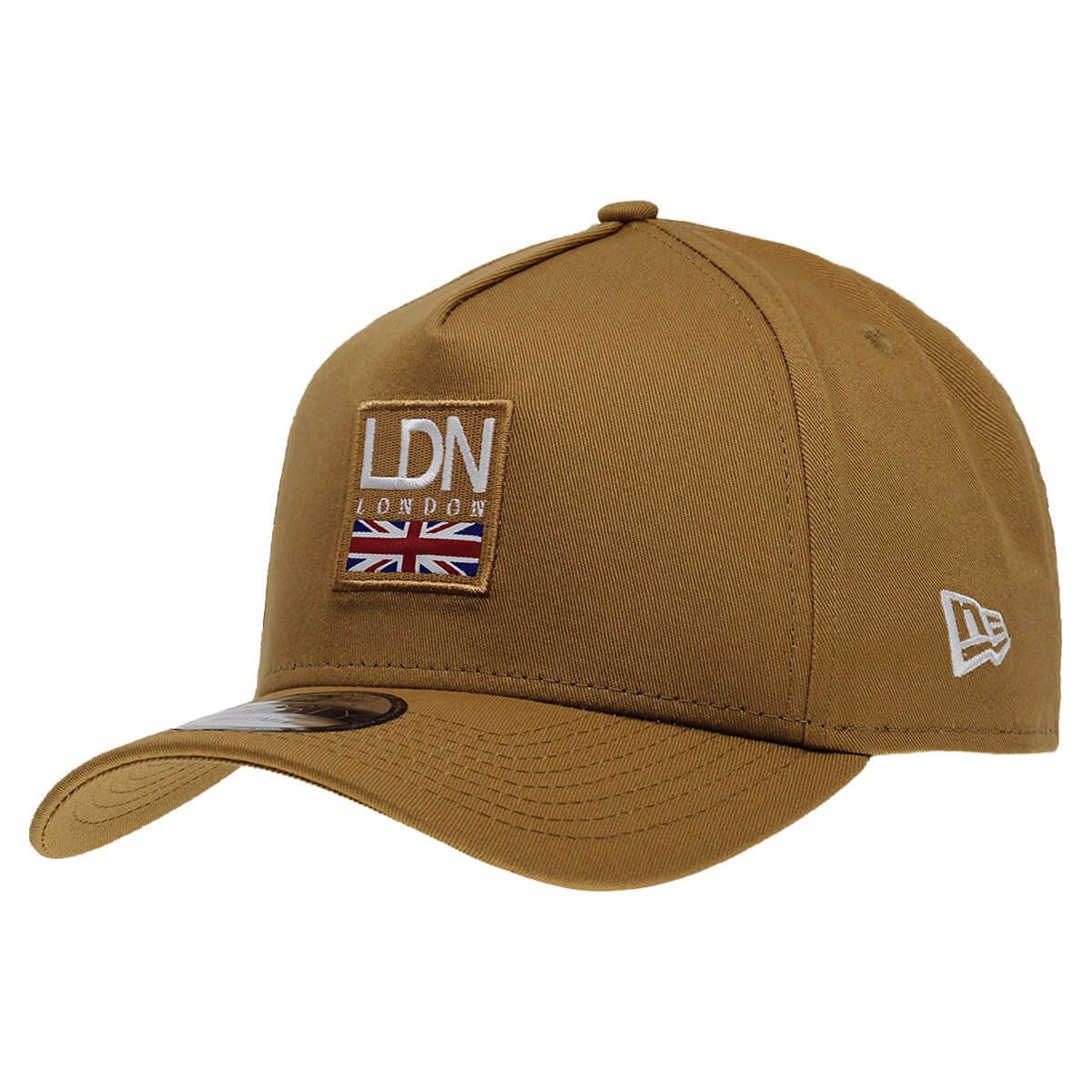 Boné New Era Aba Curva 940 SN Brand AF Cities Pack Londres
