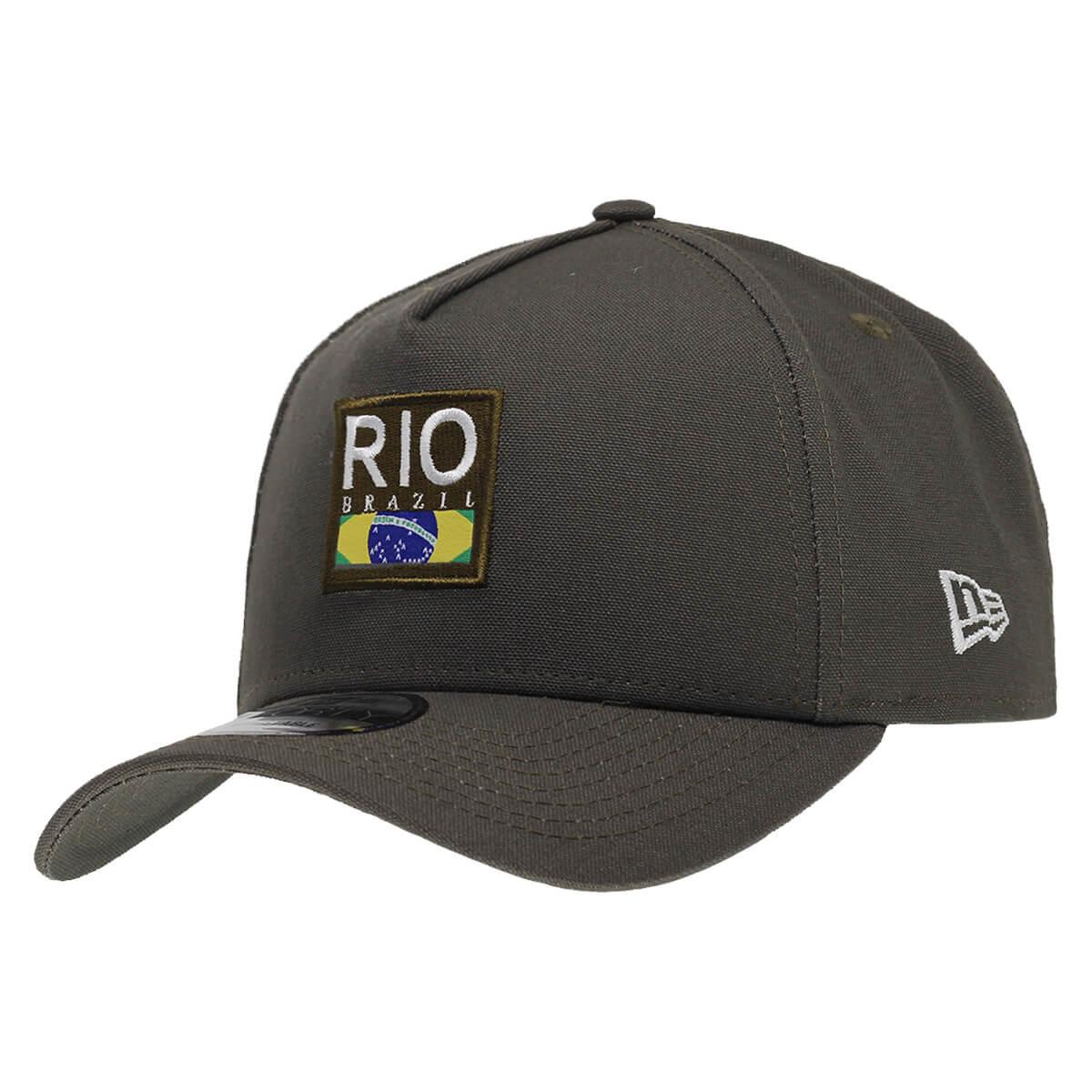 Boné New Era Aba Curva 940 SN Brand AF Cities Pack Rio de Janeiro