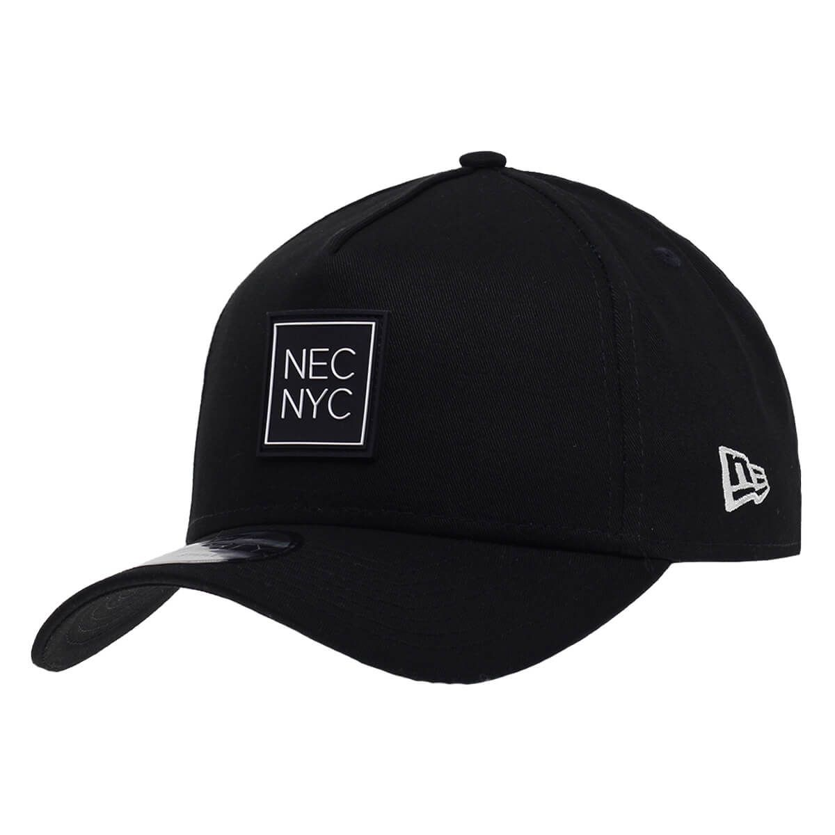 Boné New Era Aba Curva 940 SN Brand AF NEC NYC Rubber Preto