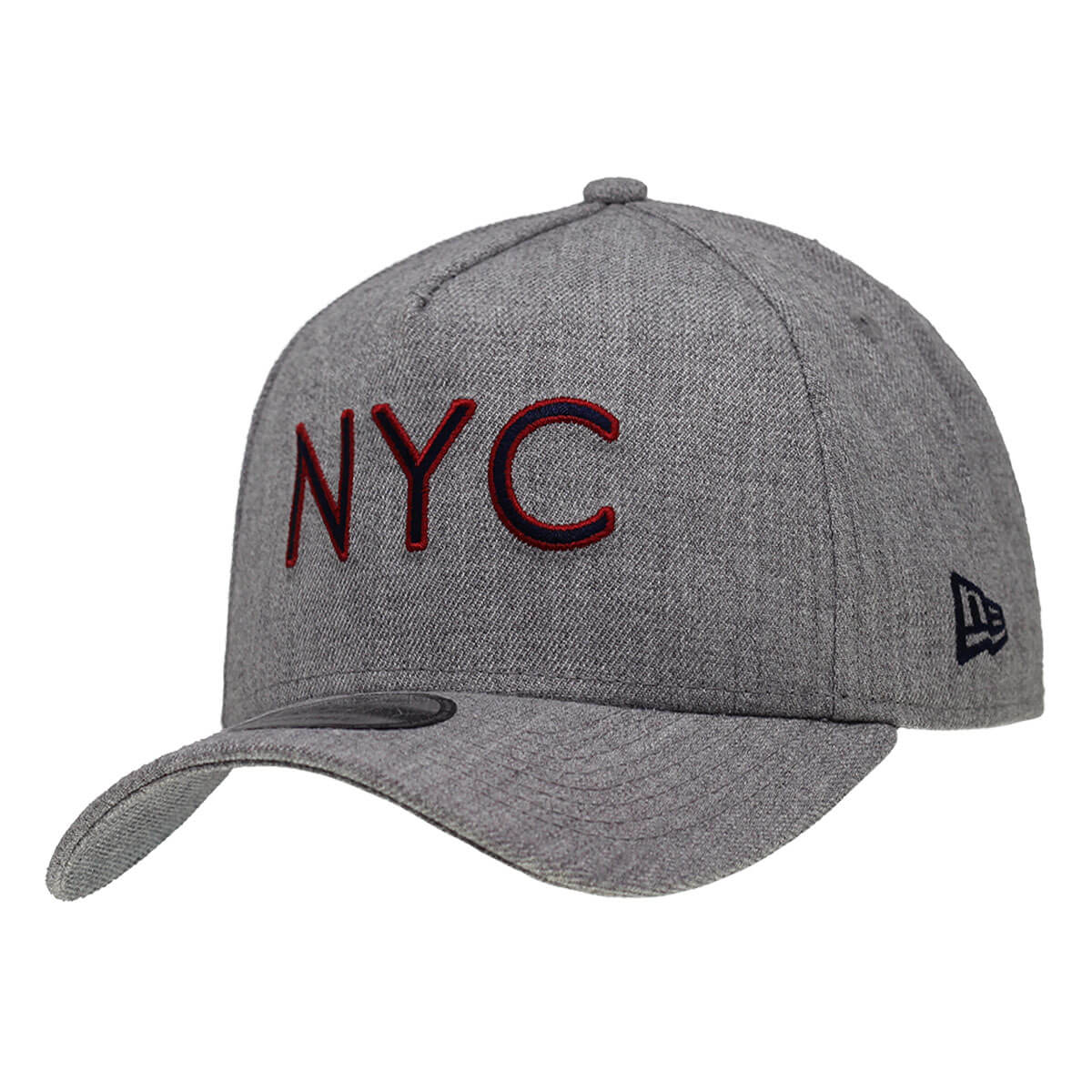 Boné New Era Aba Curva 940 SN Brand AF NYC Outline Cinza
