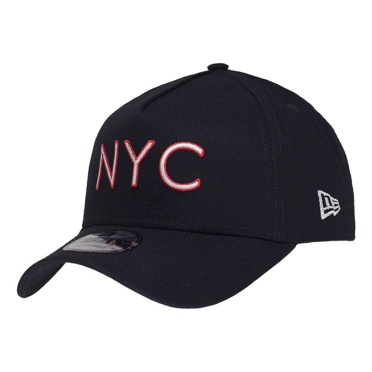 Boné New Era Aba Curva 940 SN Brand AF NYC Outline Preto