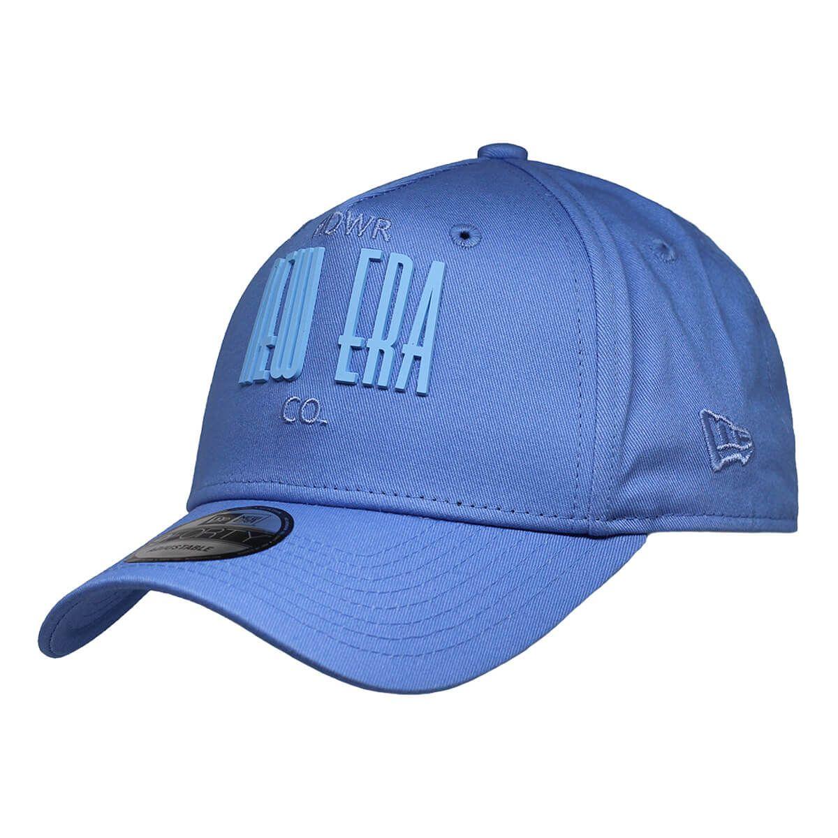 Boné New Era Aba Curva 940 SN Brand AF Wanderlust Tonal Azul