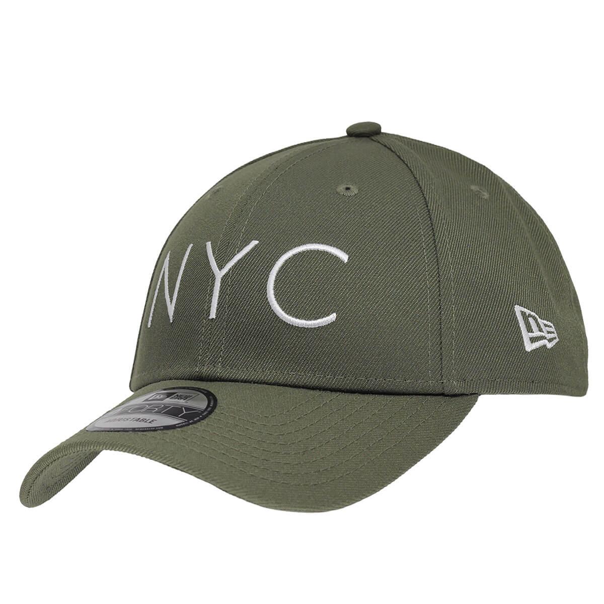 Boné New Era Aba Curva 940 SN Brand NYC Colors Verde Musgo