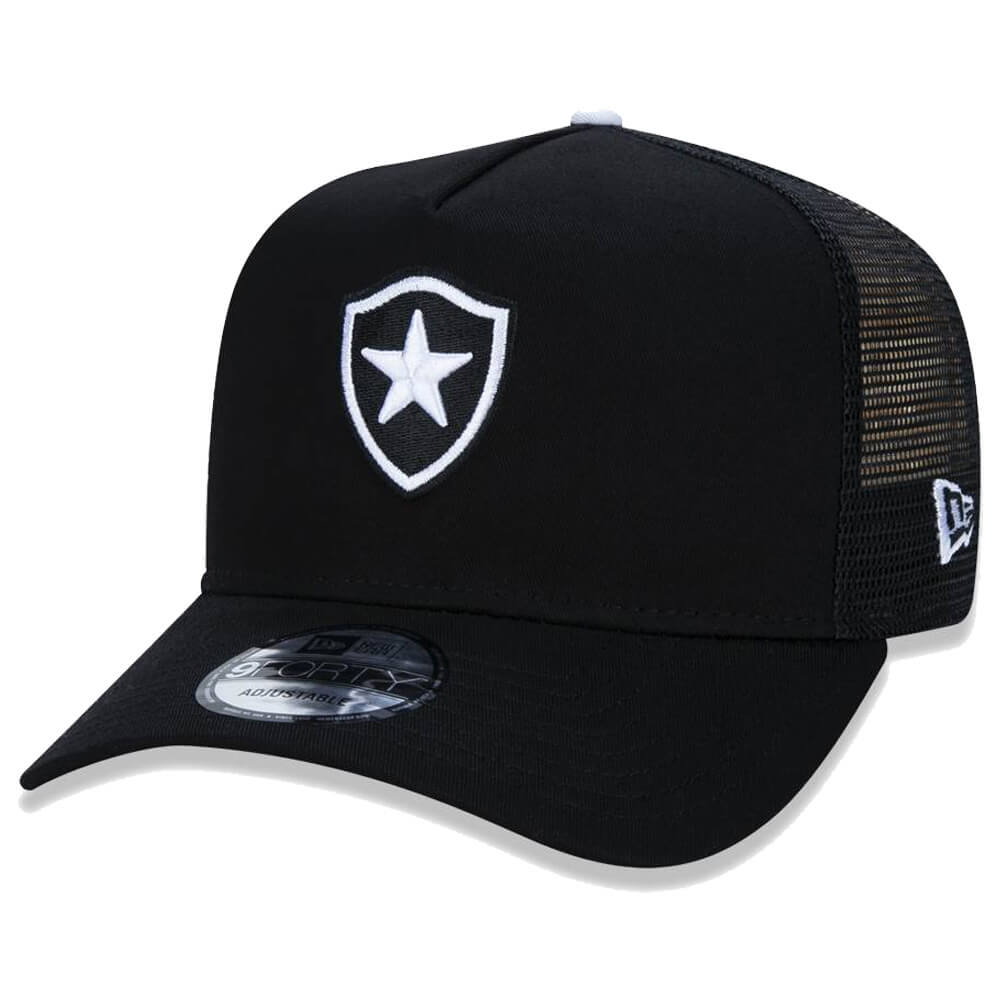 Boné New Era Aba Curva 940 SN Futebol Botafogo AF Trucker
