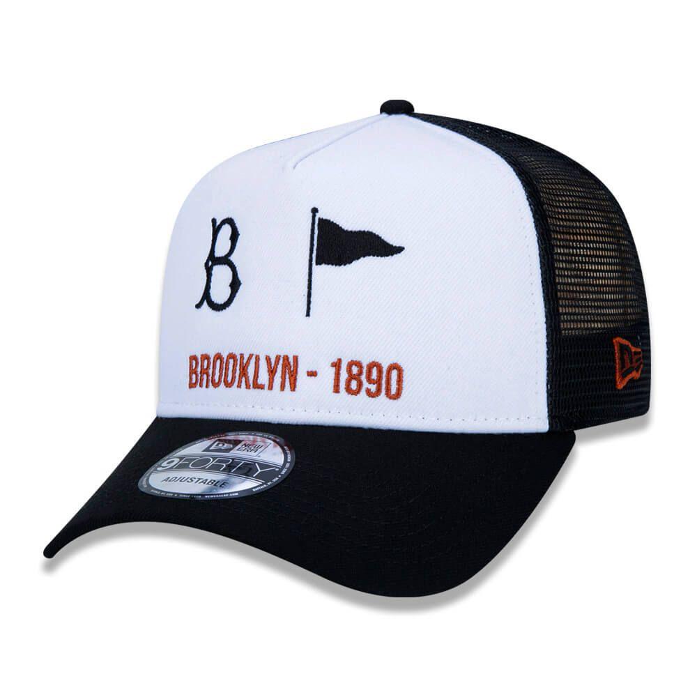 Boné New Era Aba Curva 940 SN MLB Brooklyn AF Trucker Starts
