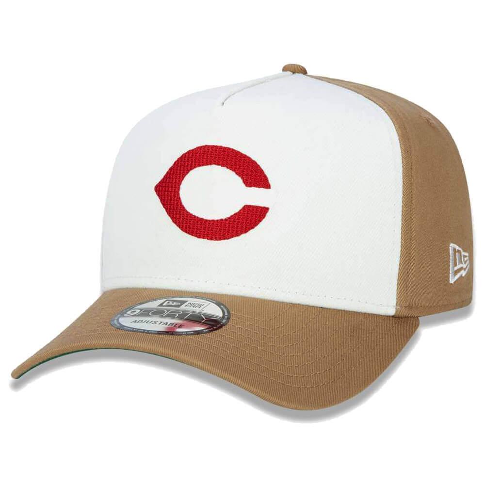 Boné New Era Aba Curva 940 SN MLB Indians AF Reborn Classic
