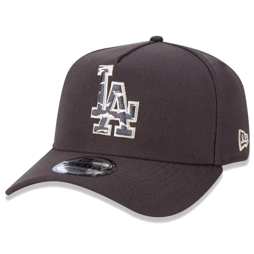 Boné New Era Aba Curva 940 SN MLB Los Angeles Earth Camo