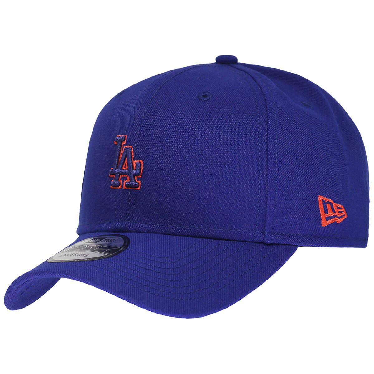 Boné New Era Aba Curva 940 SN MLB Los Angeles Mini Logo Neon