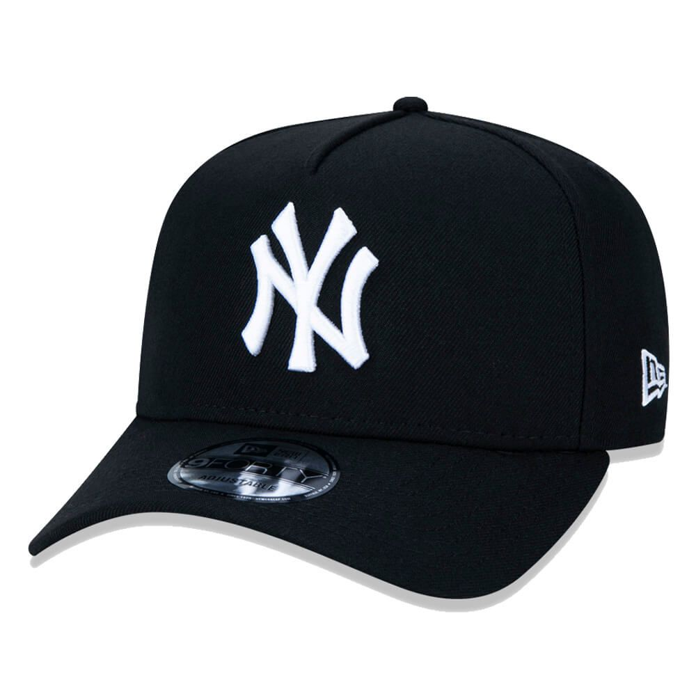 Boné New Era Aba Curva 940 SN MLB NY Yankees AF Goals