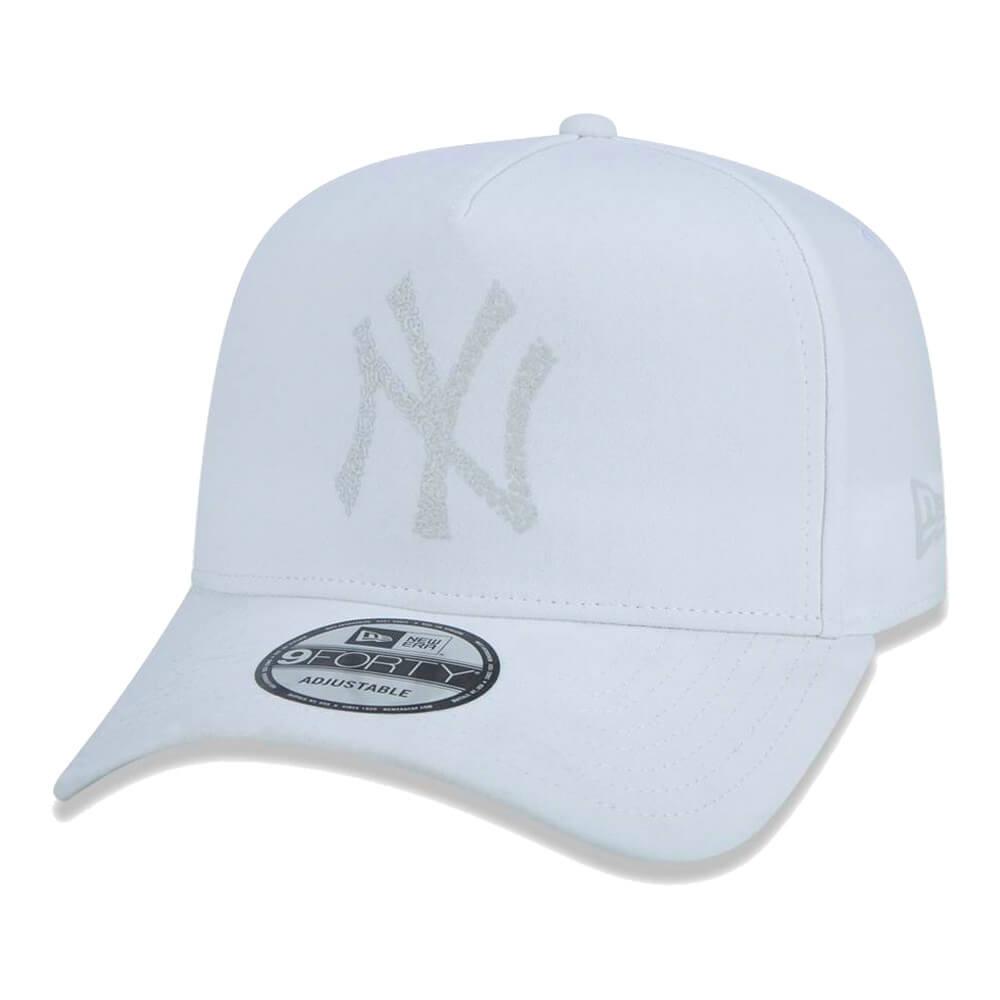 Boné New Era Aba Curva 940 SN MLB NY Yankees AF Monotone Puff