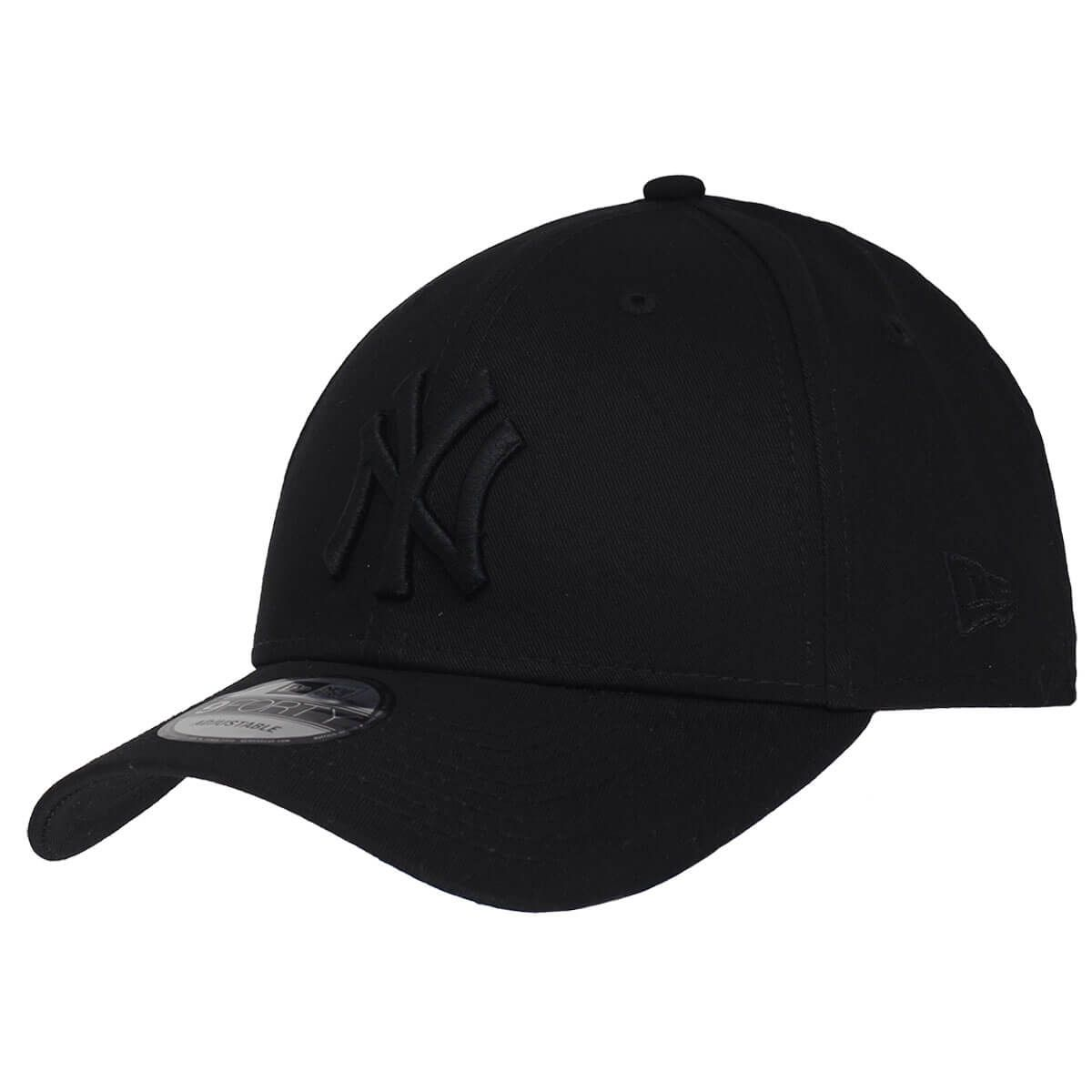 Boné New Era Aba Curva 940 SN MLB NY Yankees Blackout