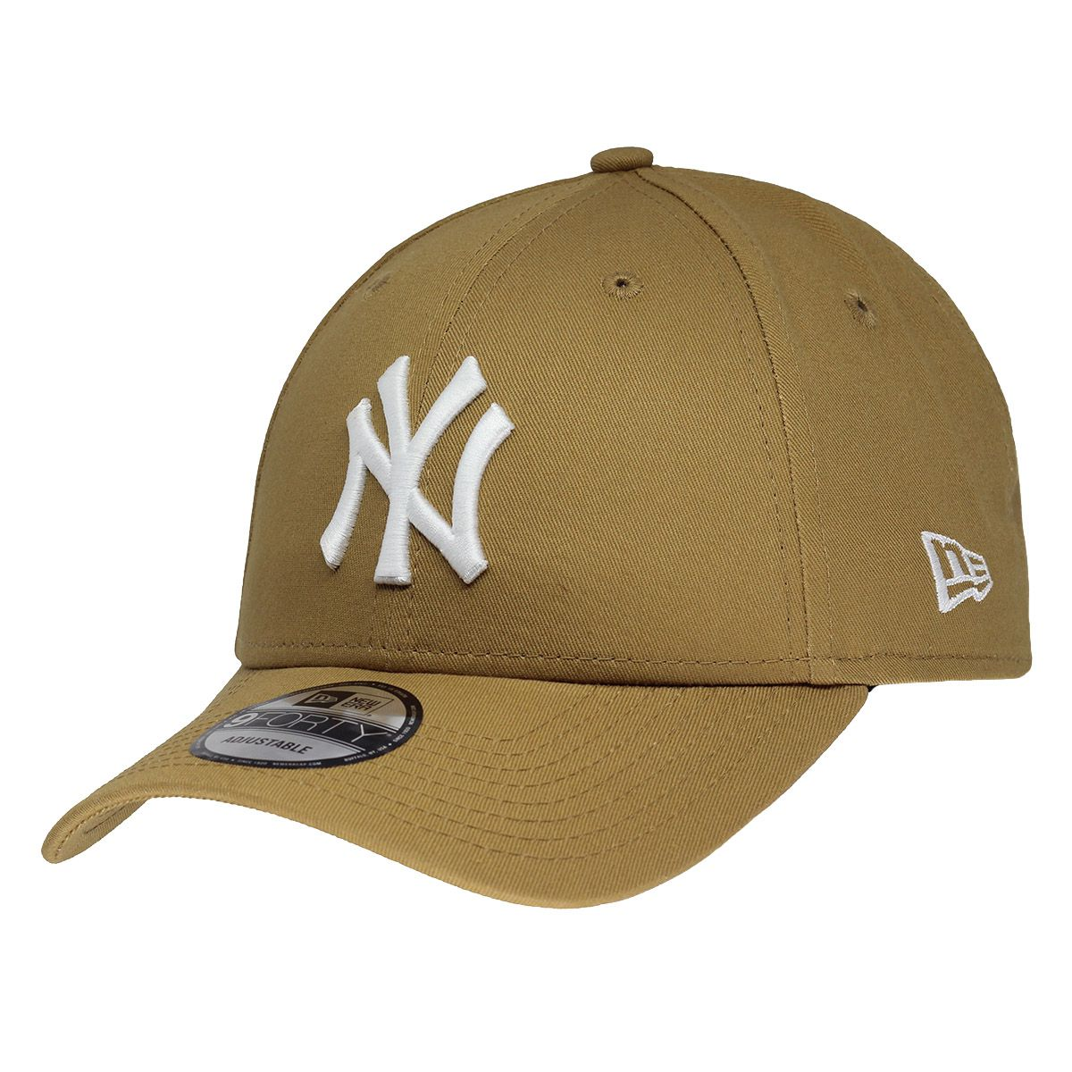 Boné New Era Aba Curva 940 SN MLB NY Yankees Colors Marrom Claro