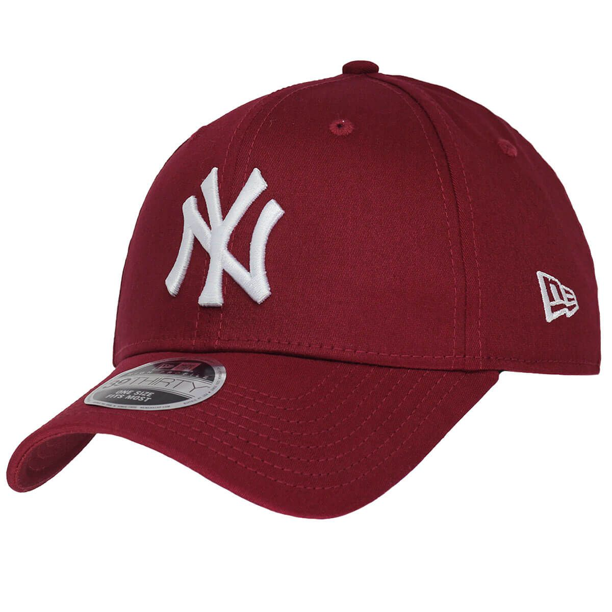 Boné New Era Aba Curva 940 SN MLB NY Yankees Colors Vinho