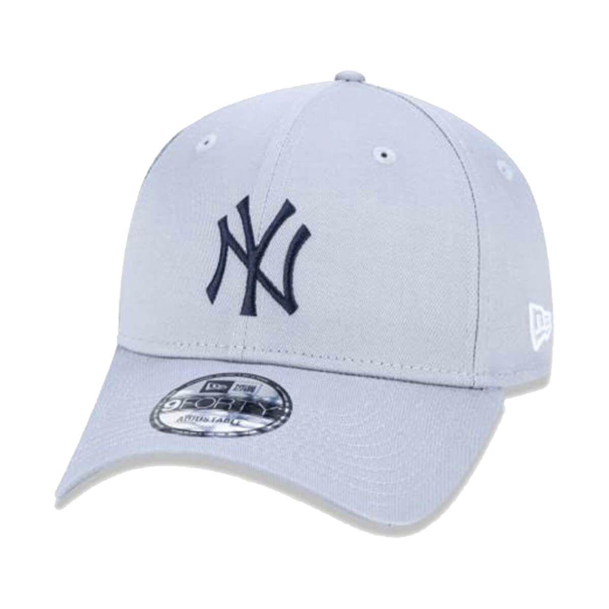 Boné New Era Aba Curva 940 SN MLB NY Yankees Sport Cinza