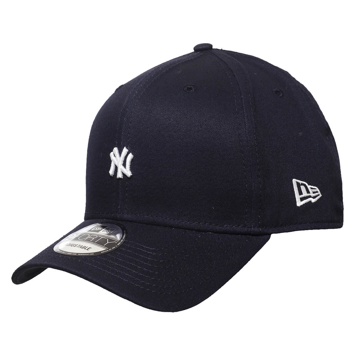 Boné New Era Aba Curva 940 SN MLB NY Yankees TC Mini Logo Azul Escuro