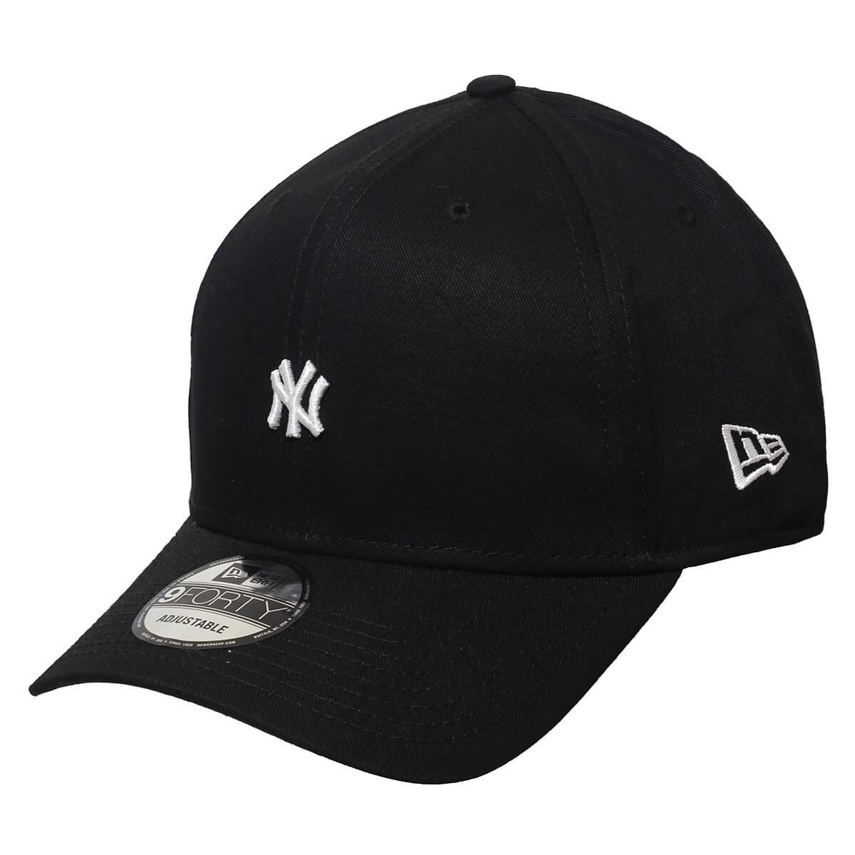 Boné New Era Aba Curva 940 SN MLB NY Yankees TC Mini Logo Preto