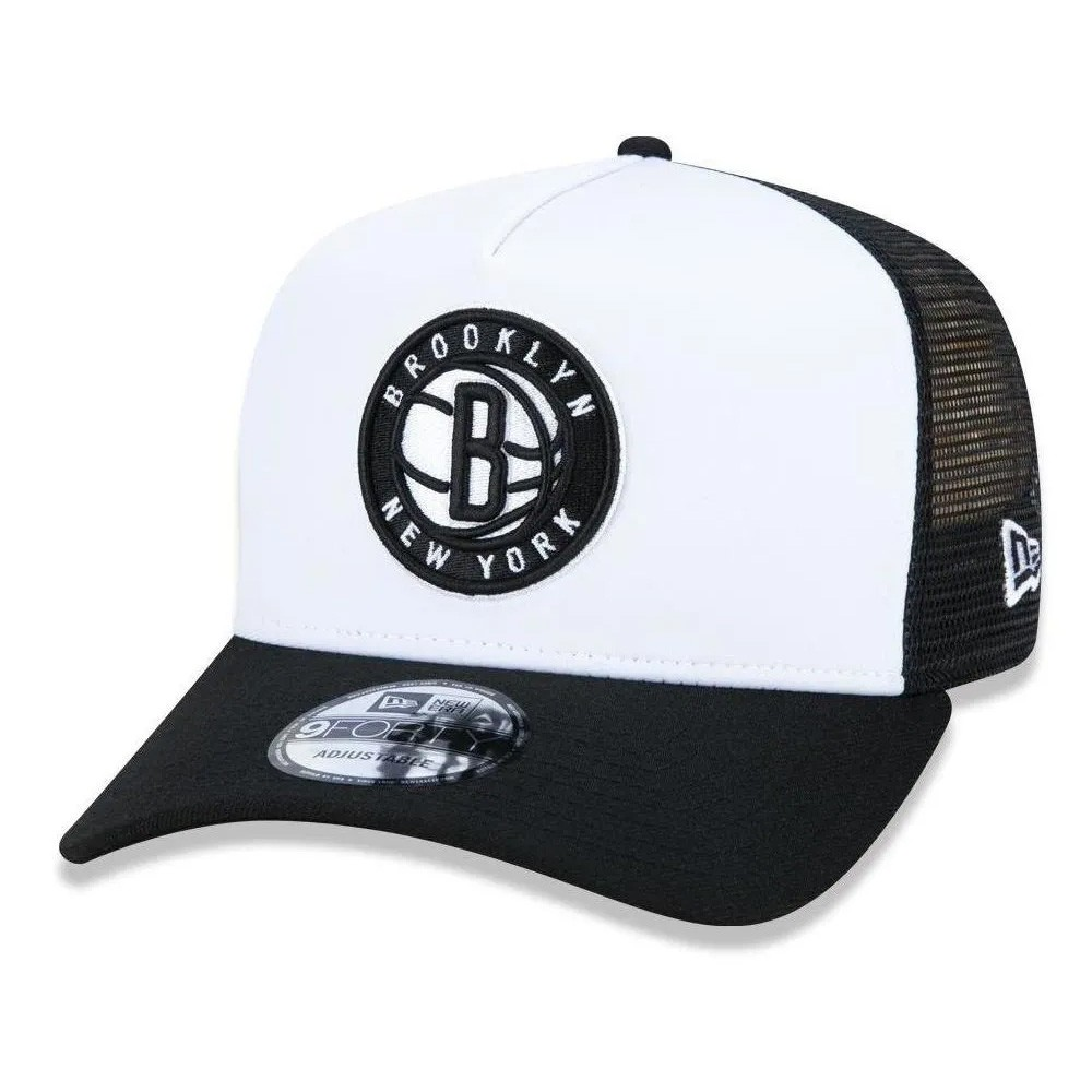 Boné New Era Aba Curva 940 SN NBA Brooklyn Nets AF Trucker