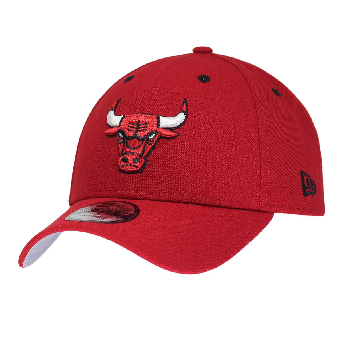 Boné New Era Aba Curva 940 SN NBA Chicago Bulls Team Color Vermelho