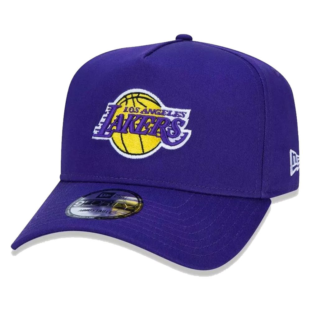 Boné New Era Aba Curva 940 SN NBA Lakers AF Basic Purple