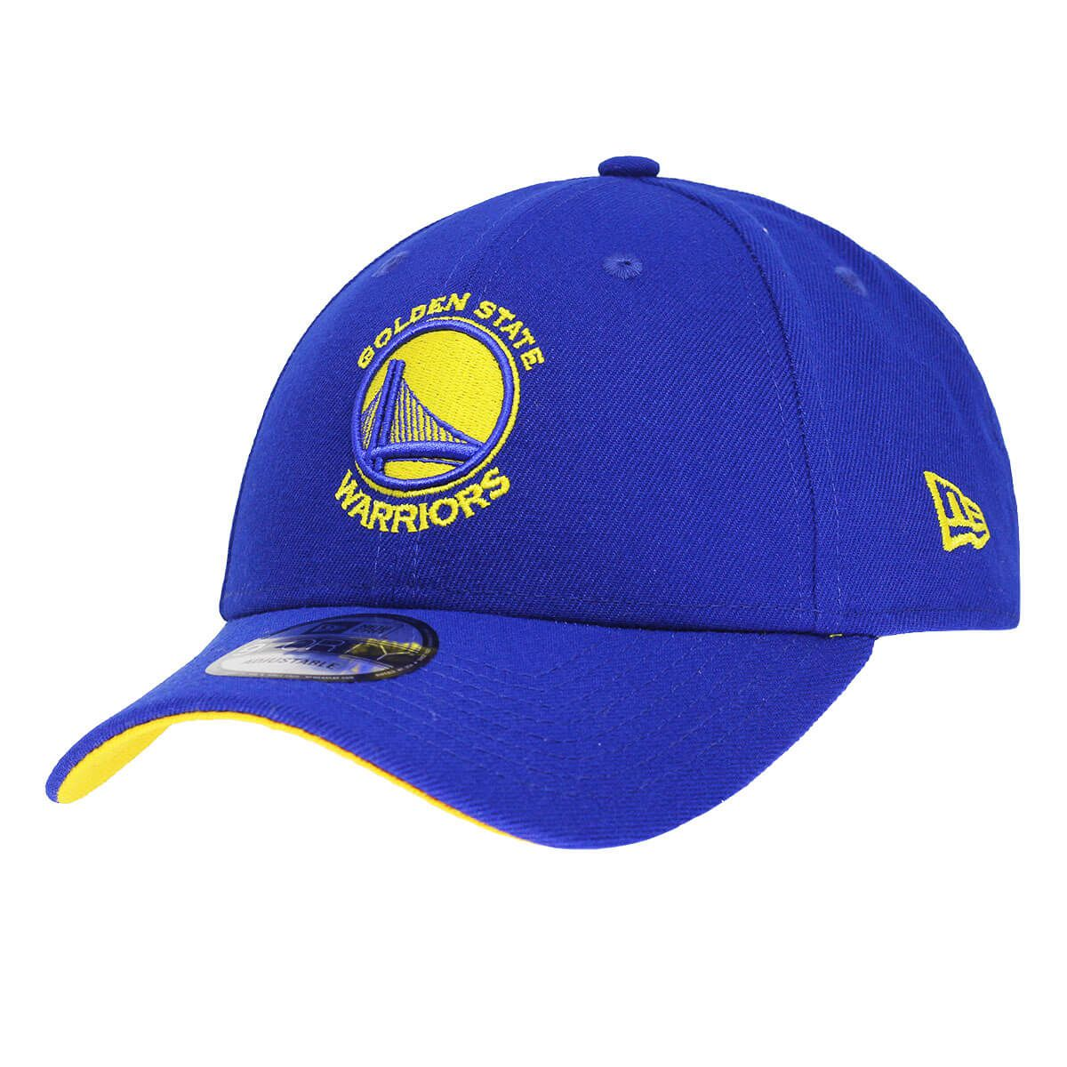 Boné New Era Aba Curva 940 SN NBA Warriors Primary