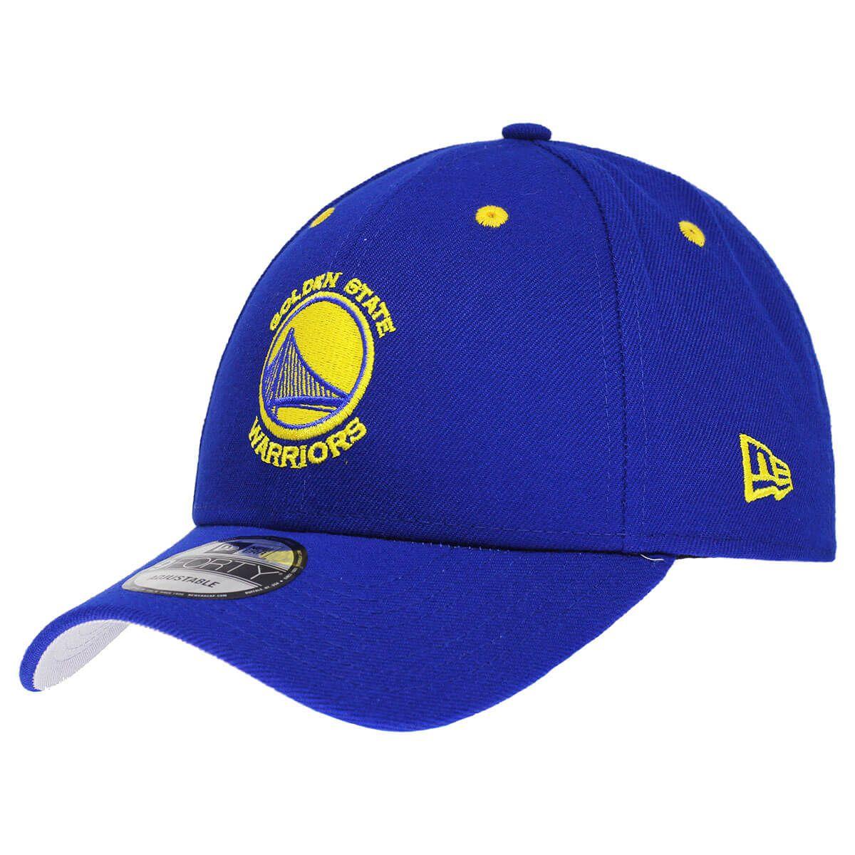Boné New Era Aba Curva 940 SN NBA Warriors Team Color