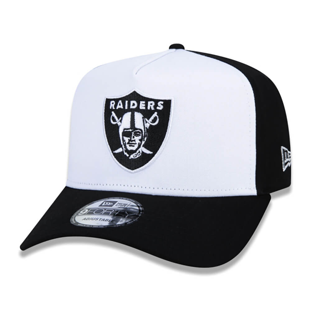 Boné New Era Aba Curva 940 SN NFL Raiders AF Core Stamp