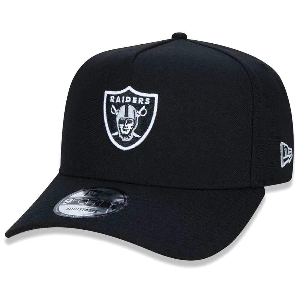 Boné New Era Aba Curva 940 SN NFL Raiders AF League