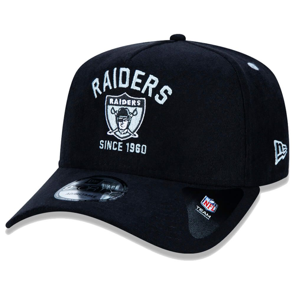 Boné New Era Aba Curva 940 SN NFL Raiders Vintage College