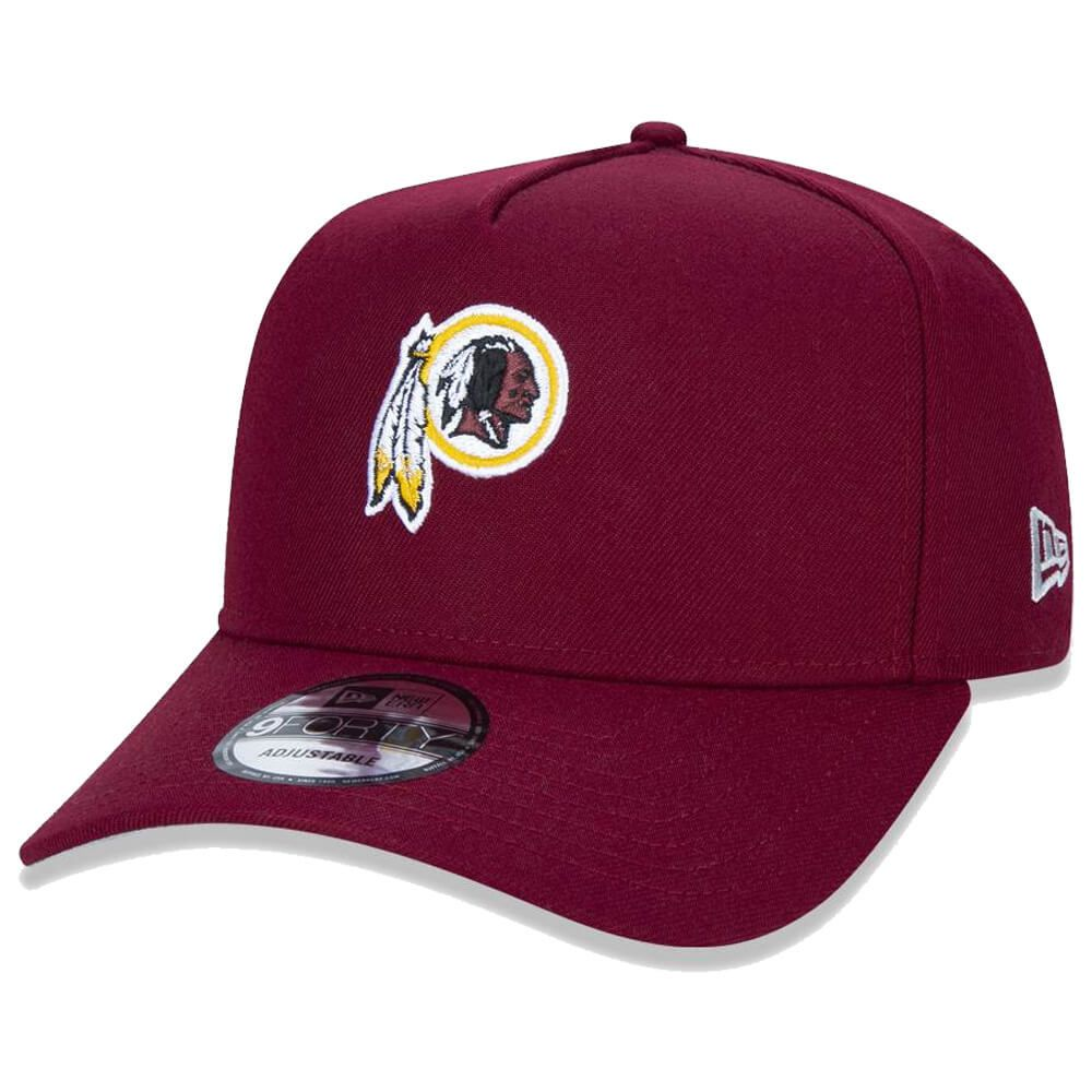 Boné New Era Aba Curva 940 SN NFL Redskins AF League