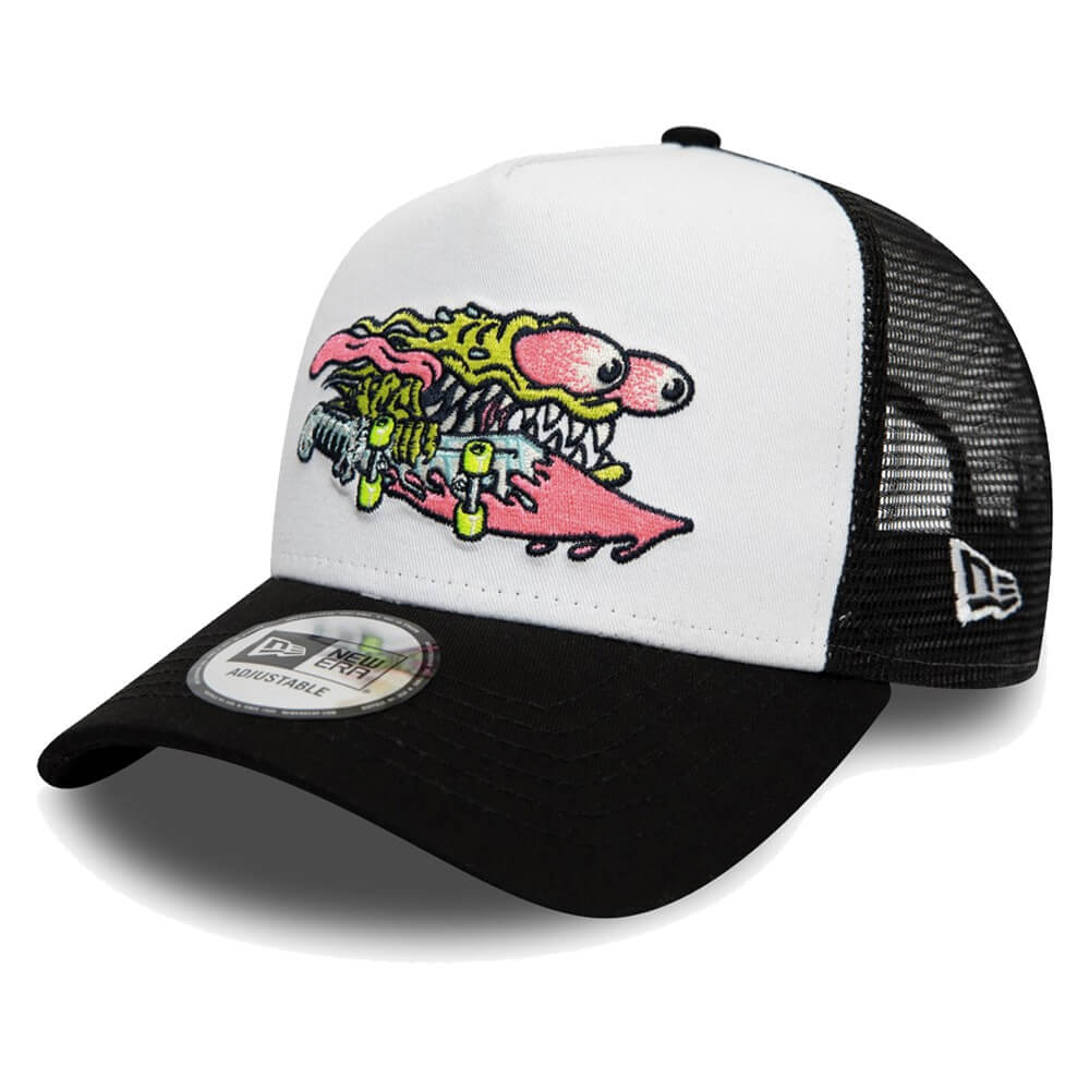 Boné New Era Aba Curva 940 SN Santa Cruz AF Trucker Slasher