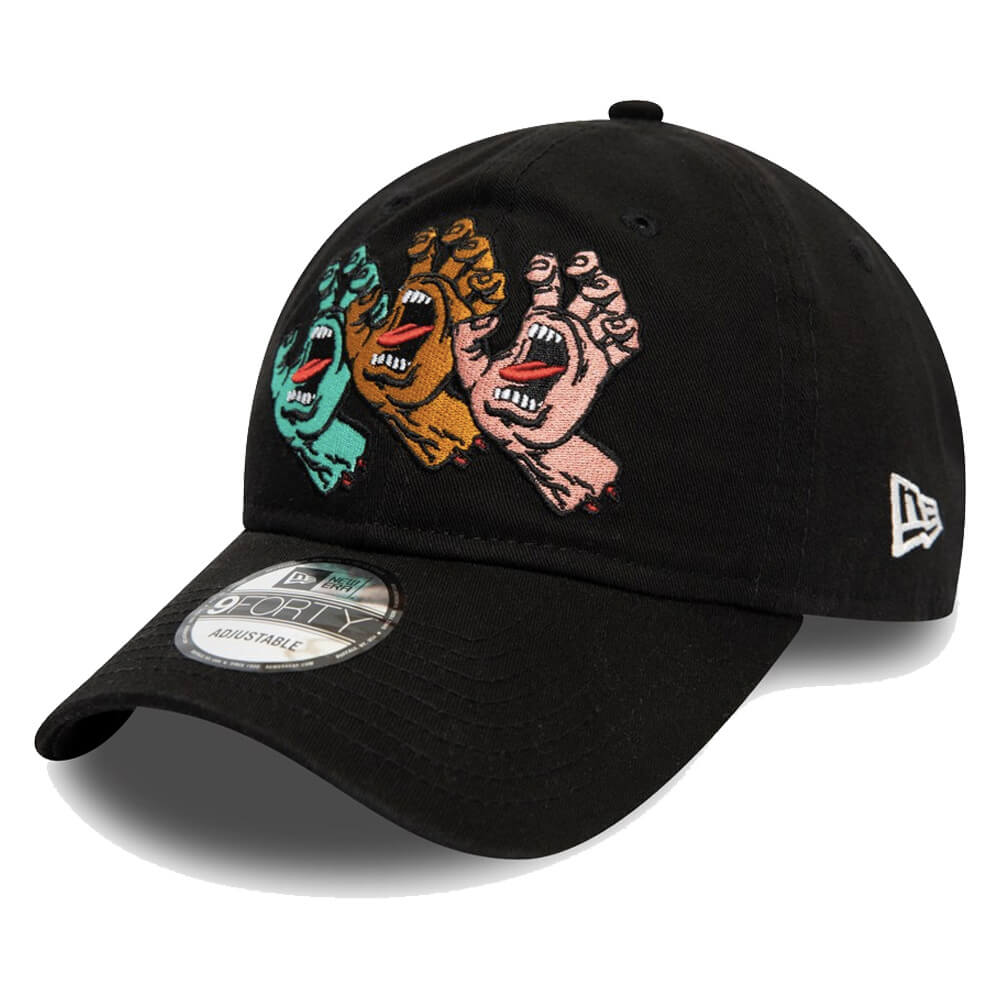 Boné New Era Aba Curva 940 ST Santa Cruz Screaming Hand