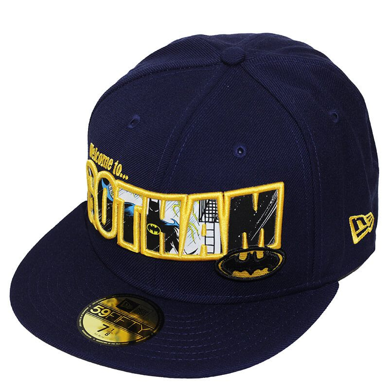 Boné New Era Aba Reta 5950 Batman to Gotham