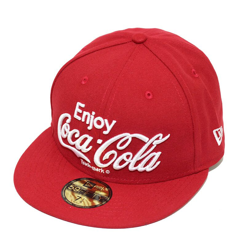 Boné New Era Aba Reta 5950 Coca-Cola Enjoy