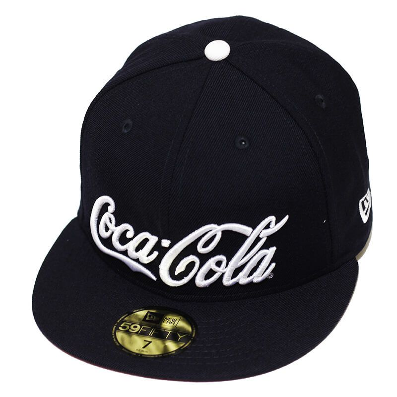 Boné New Era Aba Reta 5950 Coca-Cola Enjoy Navy