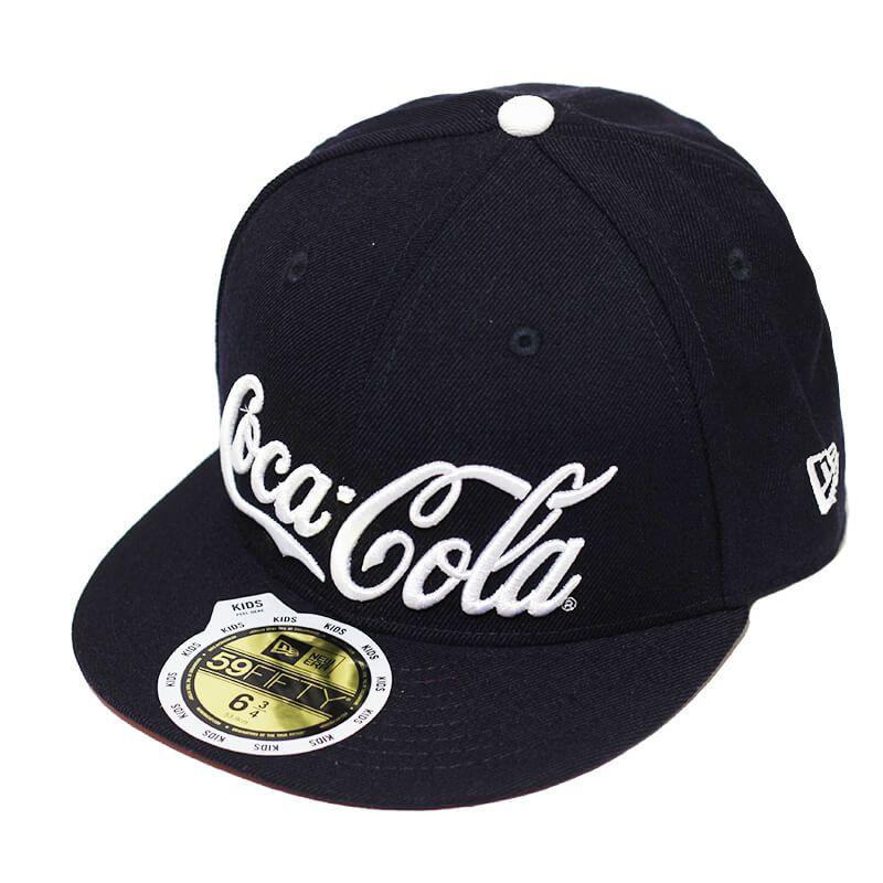Boné New Era Aba Reta 5950 Coca-Cola Navy - Infantil