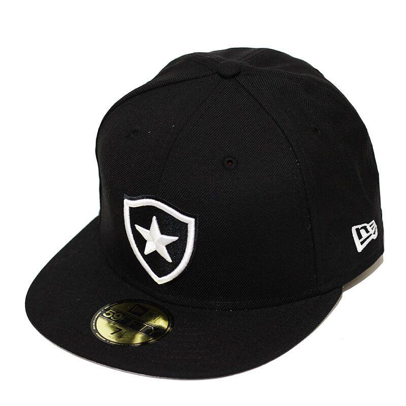 Boné New Era Aba Reta 5950 Futebol Botafogo Basic