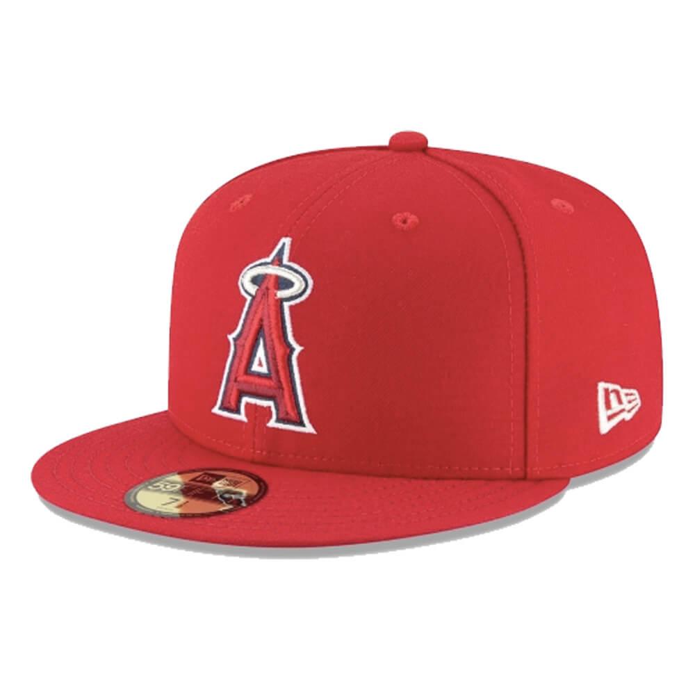 Boné New Era Aba Reta 5950 MLB Angels Game Cap
