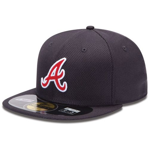 Boné New Era Aba Reta 5950 MLB Atlanta Diamond Era
