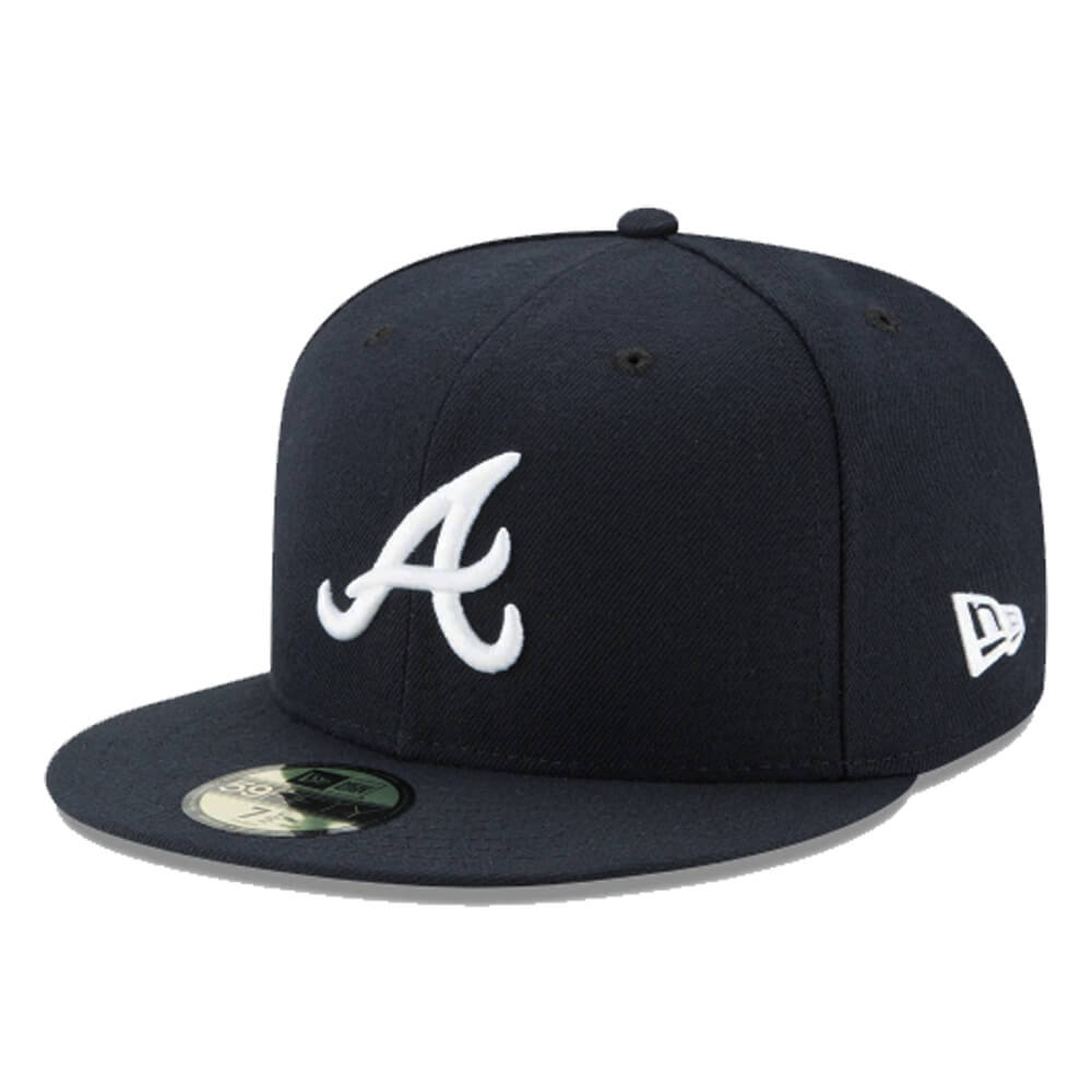 Boné New Era Aba Reta 5950 MLB Atlanta Game Cap