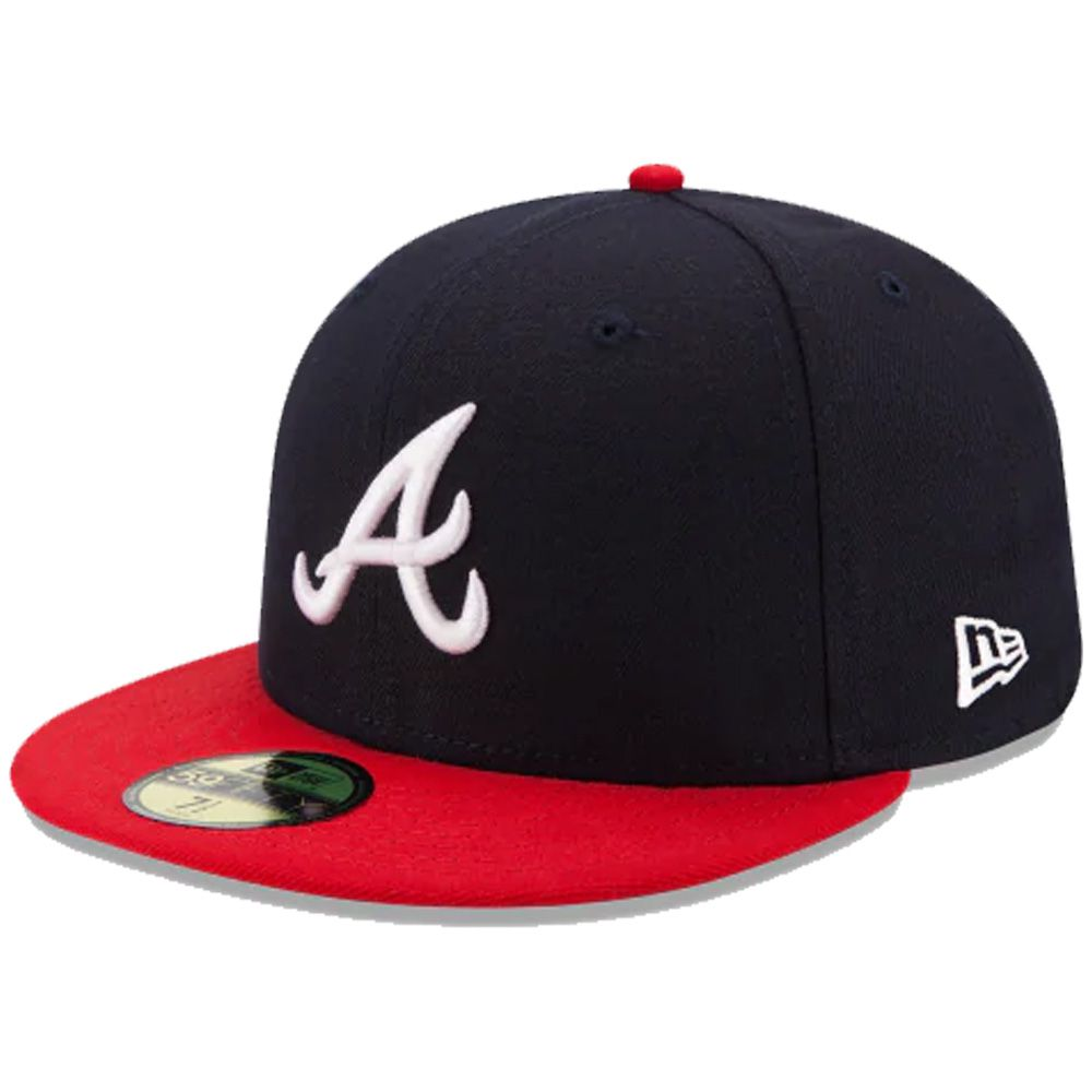 Boné New Era Aba Reta 5950 MLB Atlanta On Field Game