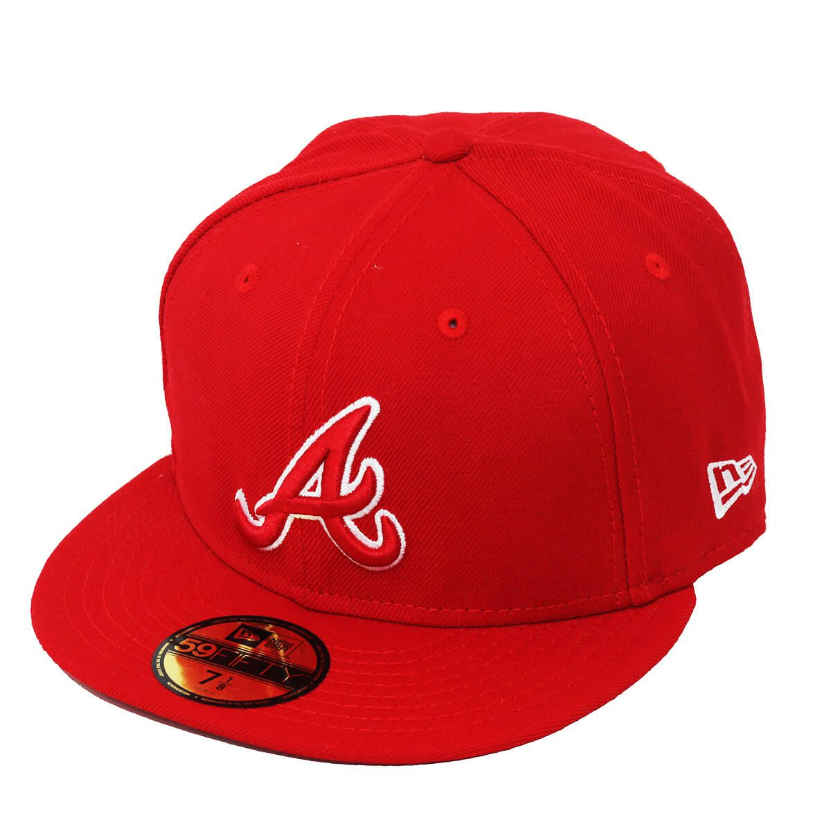 Boné New Era Aba Reta 5950 MLB Atlanta Outline Colors